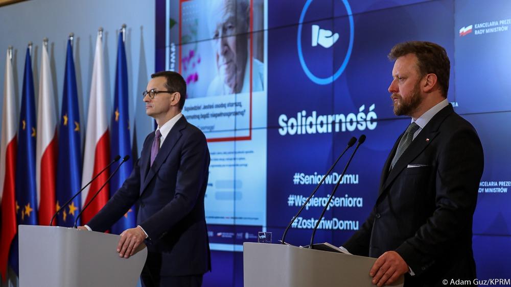 В Польше введен режим эпидемии. Штраф за нарушение карантина до 7000 долларов