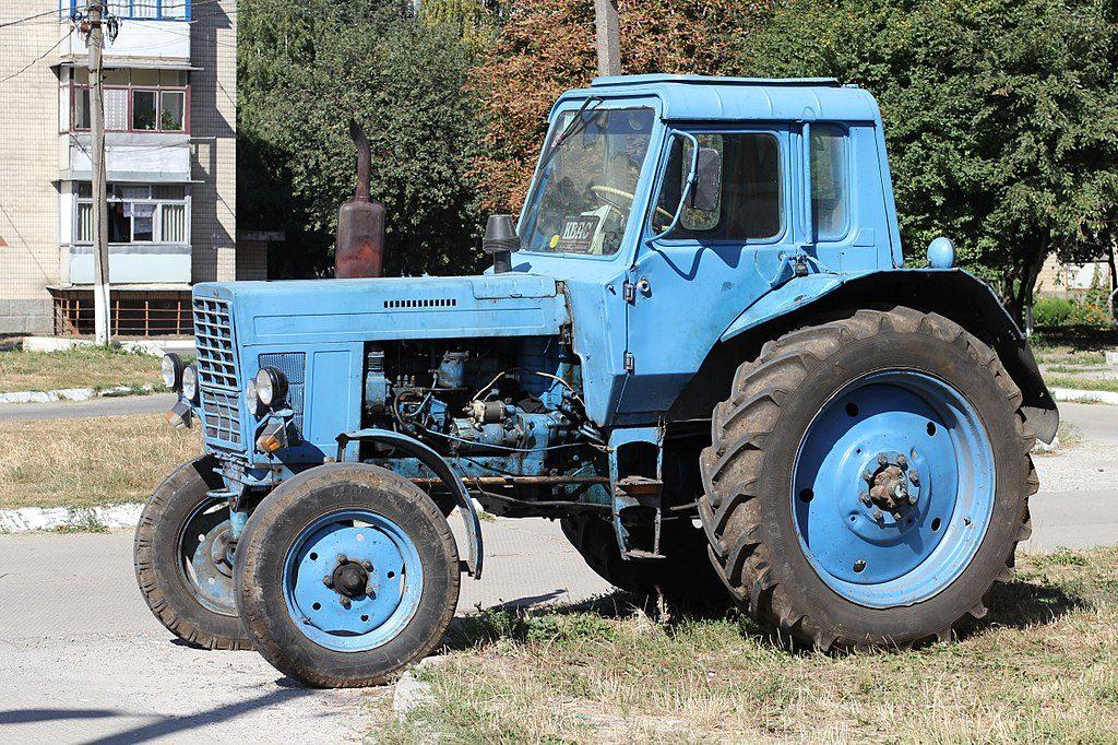 клип про трактор