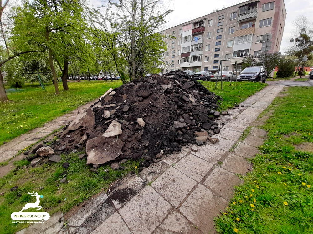 мусор врублевского
