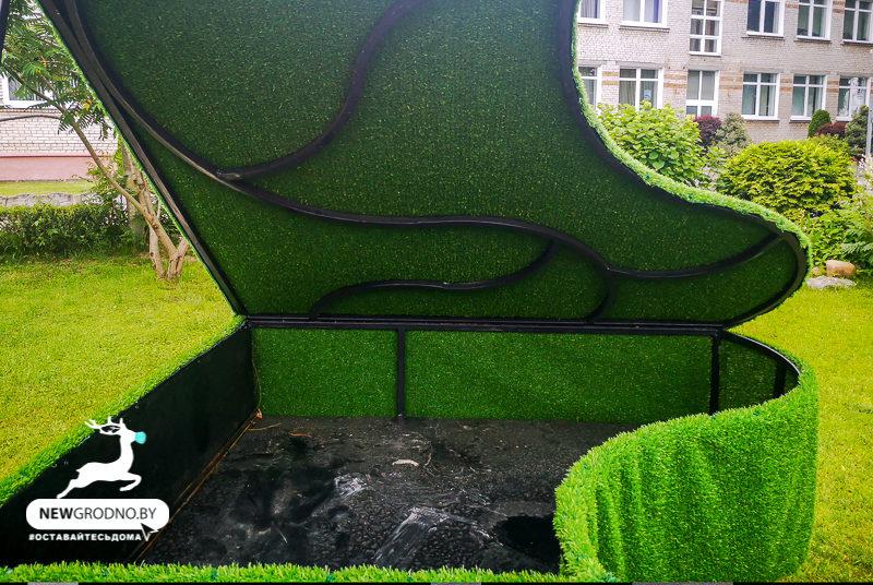 зеленый рояль парк жилибера