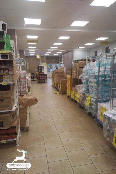 продовольственный магазин-склад