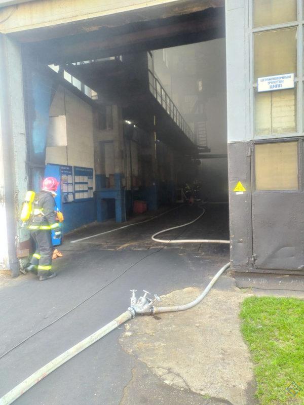 пожар карданные валы