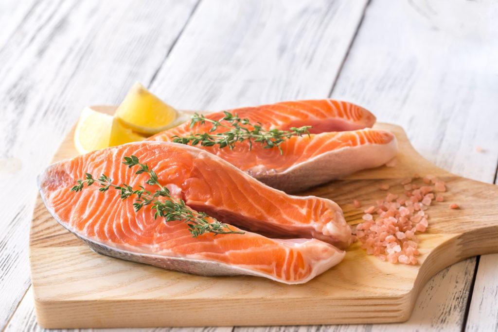 стейк рыбы
