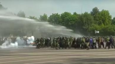 разгон акции протеста рб