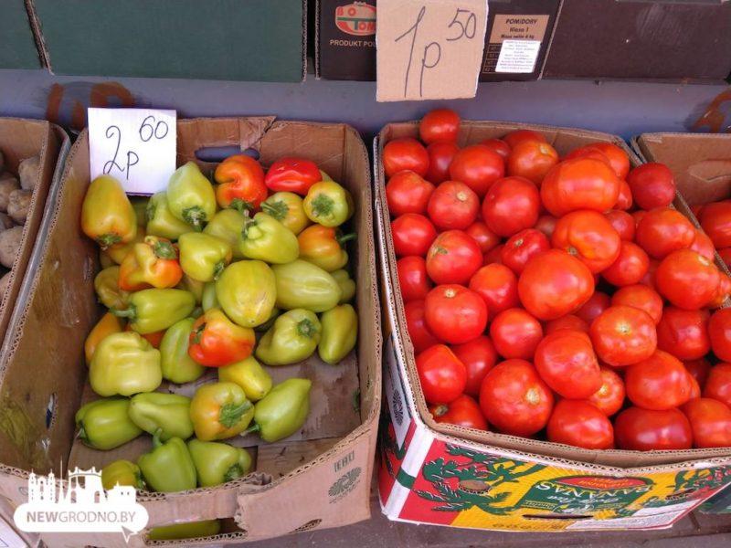 овощи гродно цены