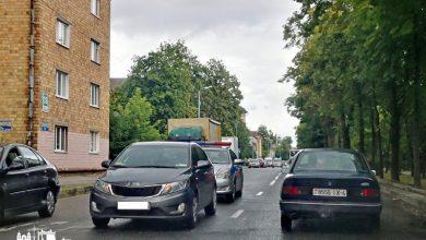 Авария на Гагарина в Гродно