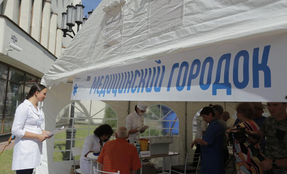 В Гродно в микрорайоне Ольшанка на один день откроется медицинский городок - NewGrodno.By